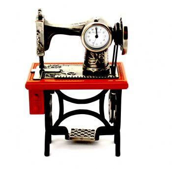 Unique Gift|Sewing Machine Miniature Clock